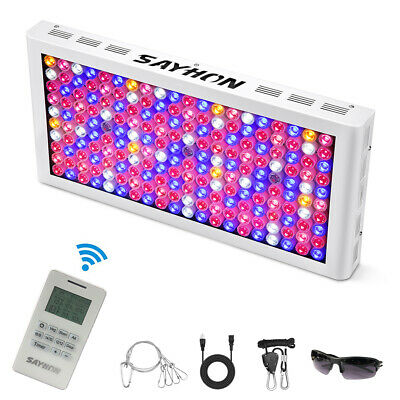 Remote Control Reflector 2000W Full Spectrum LED Grow Light Lamp for Hydroponics