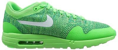 buy popular 0604c 1fc05 Hommes Nike Air Max 1 Ultra Flyknit Vert Basket Course 843384 301