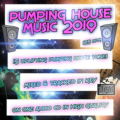 Pumping House Music 2019 NEW DJ MIXED CD 🌟 Bouncy Uplifting House Club Dance 🌟