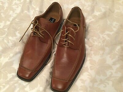 mens tan shoes size 9 Leather