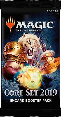 Core Set 2019 Booster Pack (ENGLISH) FACTORY SEALED BRAND NEW MAGIC MTG ABUGames