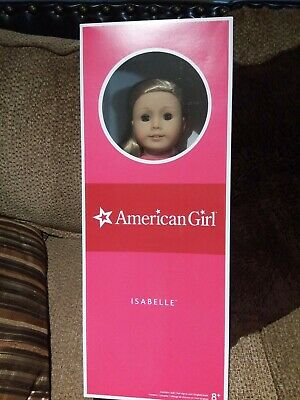Retired AMERICAN GIRL Doll of the Year 2014, ISABELLE, New In Box - No Reserve