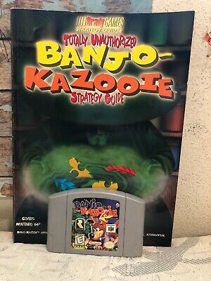 LOT OF 2 Strategy Guides for Banjo-Kazooie & Banjo-Tooie N64