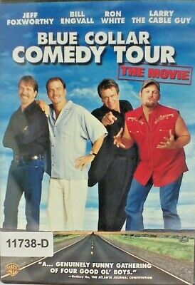 DVD BLUE COLLAR COMEDY TOUR-THE MOVIE - Jeff Foxworthy in Original Jacket FS 10