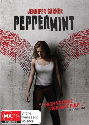 Peppermint (DVD, 2019) (Region 4) New Release