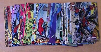 1994 Fleer Spider-Man Marvel Cards bulk lot of 28.