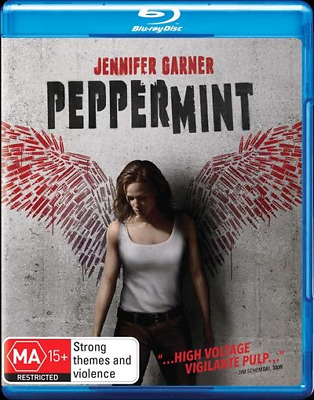Peppermint (Blu-ray, 2019) (Region B) New Release