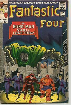 FANTASTIC FOUR # 39  DR DOOM Cover!  Silver Age  NICE!