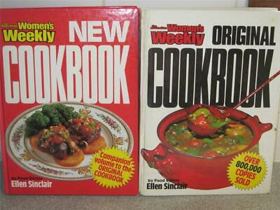 Aust Womens Weekly Cookbooks Original And New Recipes Cookbooks  Retro Companion