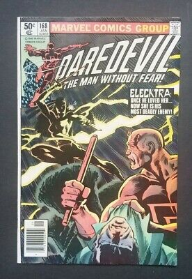 Daredevil #168 • Nice Fine- • 1St Elektra • Disney+ Streaming Show??