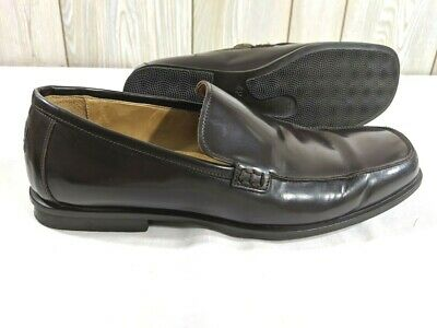 710bf9da119 Coach Jerry Italy Brown Leather Dress Casual Slip On Loafer Shoe Mens 9 D