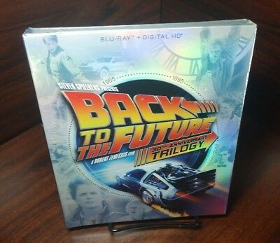 Back to the Future Trilogy (Blu-ray+Digital,4-Disc Set)NEW-Free S&H with Trackin