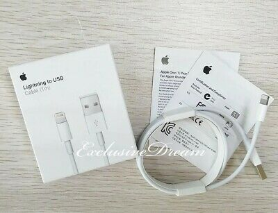 Original Charger For Apple iPhone 7 Plus OEM Genuine Lightning USB Cable X 8 6 5