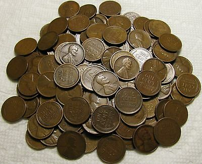 2 Rolls Of 1919 S San Francisco Lincoln Wheat Cents From Penny Collection