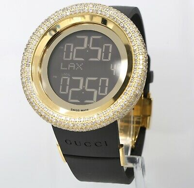 a33662d49d6 Master of Bling - I Gucci YA114215 Grammy Edition 13CT Diamond 49mm Mens  Watch
