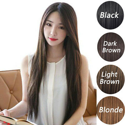 Women's Long Straight Full Hair Wig Party Hairpiece Natural Heat Resistant wig