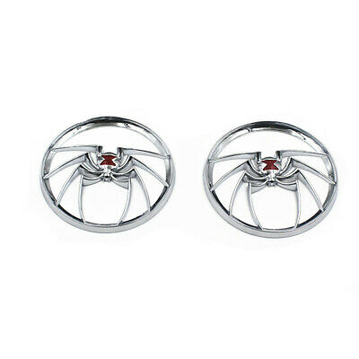 Motorcycle Spider Speaker Grills Cover For Harley Street Glide Touring 1996-2013