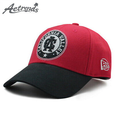 Mens Baseball Cap cotton red letter embroidered women's hat hats gorras sport