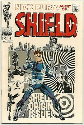 NICK FURY Agent Of SHIELD #4    Beautiful Early Silver Age Nice Solid VF8.5