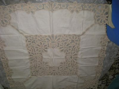 Fancy Square Dining Table Cloth With Embroidery.