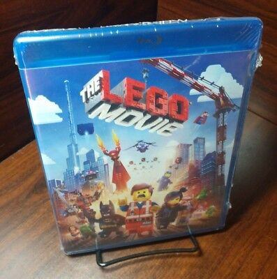 The LEGO Movie (Blu-ray Disc) NEW(Sealed) Free Shipping w/Tracking