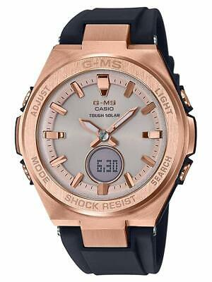 Casio BABY-G MSGS200G-1A G-MS Rose Gold Tough Solar Analog-Digital Ladies Watch
