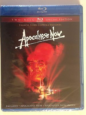 Apocalypse Now (Blu-ray Disc, 2010, 2-Disc Set, Special Edition)(NEW)