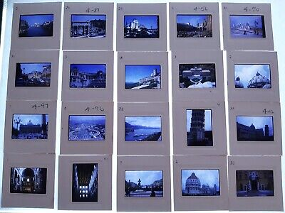 Huge Travel Slide Set 120 slides in Carousel- ITALY  #1 - 1970s