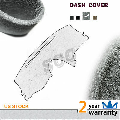 1pc Dark Grey Dashboard Mat Pad Dash Cover Fits 1997-2003 Ford F150//Expedition