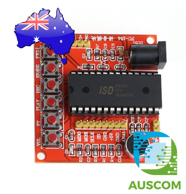 ISD1700 Series Voice Record Play ISD1760 Module AVR Arduino PIC DC 5V 60 Sec +