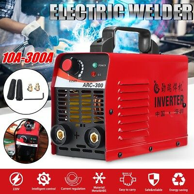 300Amp Welder Inverter ARC Welding Machine DC iGBT Stick Portable 10A Plug 240V