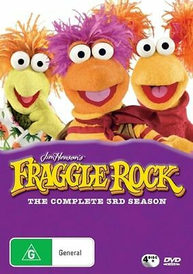 Fraggle Rock - Complete 3Rd Season 4 Discs - New & Sealed R4 Dvd Free Local Post
