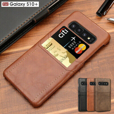 For Samsung Galaxy S10 S10E S10 Plus Leather Wallet Card Slot Slim Case Cover