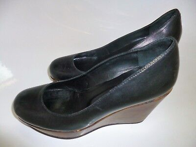 Country Road Wedge Leather Shoes Size 35