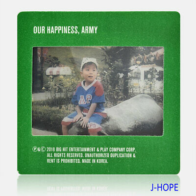KPOP BTS 2019 Season's Greetings J-HOPE Baby Photo Film Photocard Official