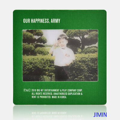 KPOP BTS 2019 Season's Greetings JIMIN Baby Photo Film Lomo Photocard Official