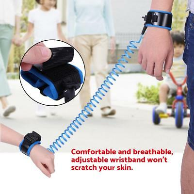 Anti-Lost Strap Wrist Link Hand Harness Leash band Safety for Toddlers Kid BT
