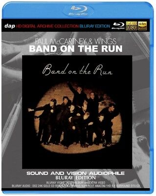 PAUL McCARTNEY & WINGS / BAND ON THE RUN SOUND AND VISION AUDIOPHILE BLURAY#na