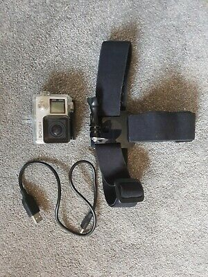 GoPro HERO4 - Touchscreen - Silver: INCLUDED head mount and waterproof casing