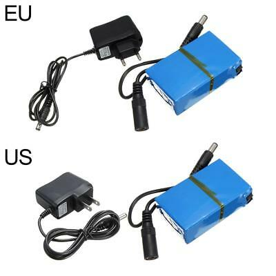 Portable DC-168 12V 1800mAh Rechargeable Li-ion Battery Pack for CCTV Camera Set