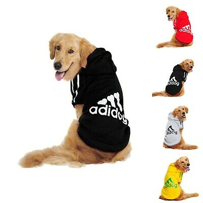 Pets Clothes Adidog Winter Warm Casual Hoodie Coat Jacket Clothing For Dogs