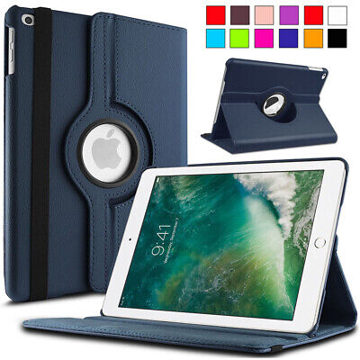 """360 Rotating Leather Smart Cover Case for iPad 5th/6th Generation 2017 2018 9.7"""""""