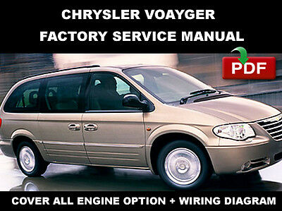 chrysler dodge plymouth 1997 1998 voyager grand voyager workshop repair service manual 10102 quality