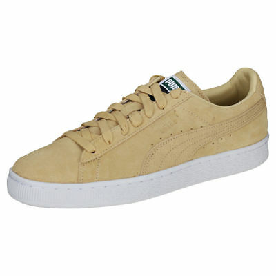 PUMA SUEDE Classic Komodo Mens Pebble Leather   Suede Trainers ~10 UK~  Light Tan 3a9a679f4