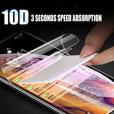10D Genuine Full Screen Protector Hydrogel Film For Samsung Galaxy S10E S10 Plus