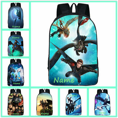 a91f57b449c5 How to Train Your Dragon Boys Girls School Bag Student Backpack Kid s  Rucksack