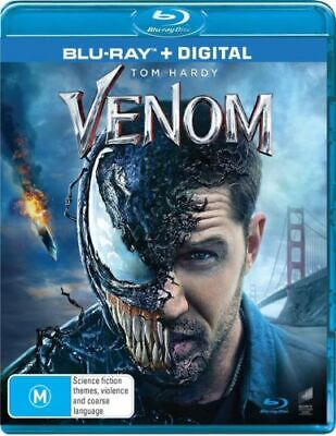 Venom - Blu-ray, 2019, NEW SEALED AUSTRALIAN RELEASE