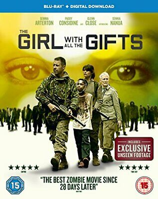 The Girl With All The Gifts [Blu-ray + Digital Download] [2016] [DVD][Region 2]