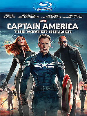 Captain America - The Winter Soldier (Blu-ray, 2014), NEW SEALED AUSTRALIAN