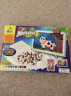 Magnetic Mosaics - Fantastic Game For Young Ones